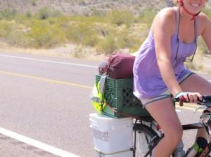 Low-tech biking gear