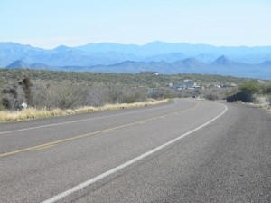 Toward Wickenburg