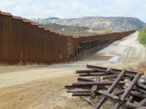 Our new border fence
