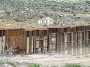Border fence detail