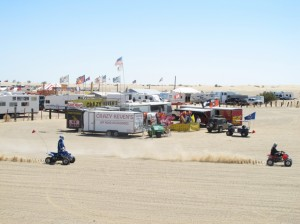 Glamis campground