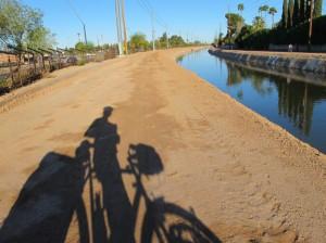 A canal path
