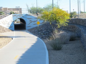Tunnel in Scottsdale