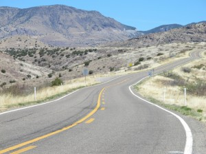 Climbing toward New Mexico