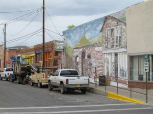 Side street in Silver City