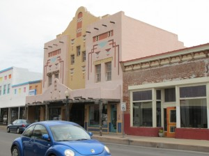 One of the old theaters in town