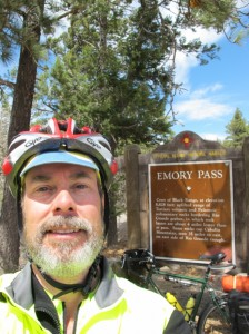 Self-protrait at Emory Pass