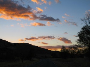At dawn in Hillsboro