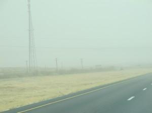 Heading toward Las Cruces