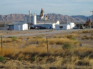 Talc processing plant