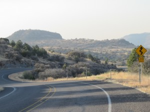 Coasting to Fort Davis