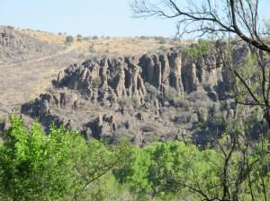 Ancient lava flows