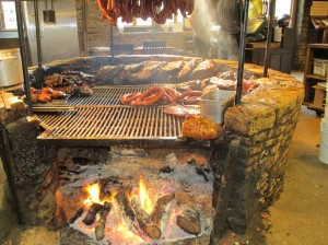 The Salt Lick's barbeque pit