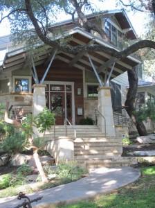 Pfeiffer house entrance