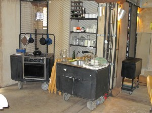 Modular kitchen equipment at CMPBS