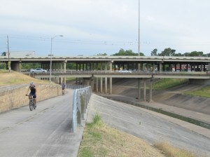Houston's Bike Pathway